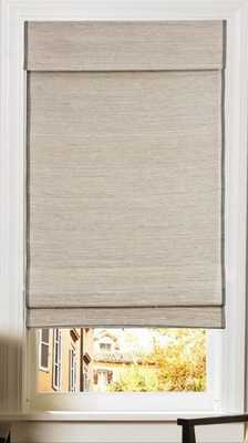 CUSTOM Home Collection Premier Roman Shade, 16 x 58 Kula Coconut - Home Depot