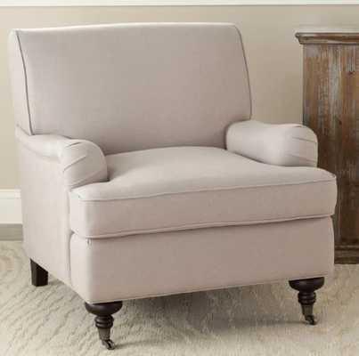 Safavieh Chloe Fabric Club Chair - Hayneedle