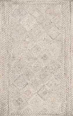 "Braided Yvette Trellis Rug - 7'6"" x 9'6"" - Loom 23"