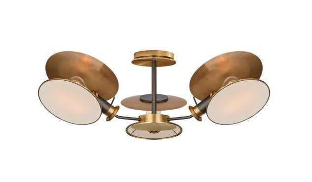 Osiris Medium Reflector Semi-Flush Mount - Circa Lighting