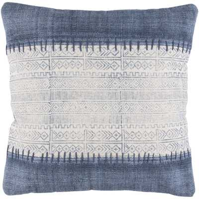 Friedman Cotton Indoor Geometric Square Throw Pillow With Down Fill - AllModern