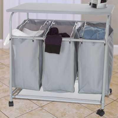 3 Bin Laundry Center - Wayfair