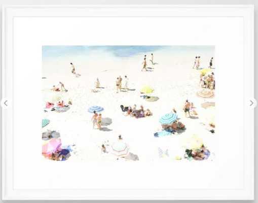 beach XXI Framed Art Print - Society6