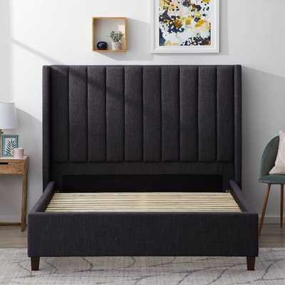 Adaliene Upholstered Low Profile Platform Bed - Wayfair