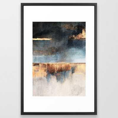 Storm Framed Art Print - Society6