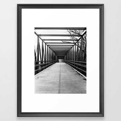 Bridge to Nowhere Black and White - Society6