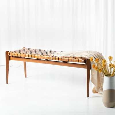 Soleil Solid Wood Bench - Wayfair