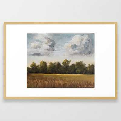 Sunkissed and Breezy Framed Art Print - 26x38 - Society6
