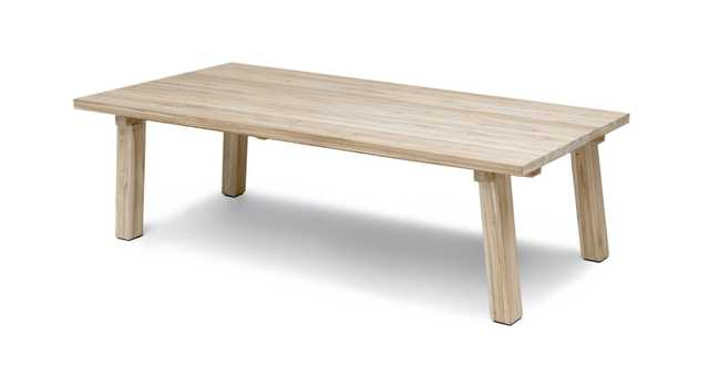 Teaka Dining Table For 8 - Article