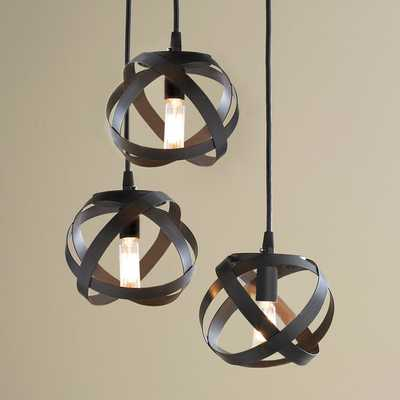 GALAXY METAL RIBBON PENDANT CHANDELIER - Shades of Light