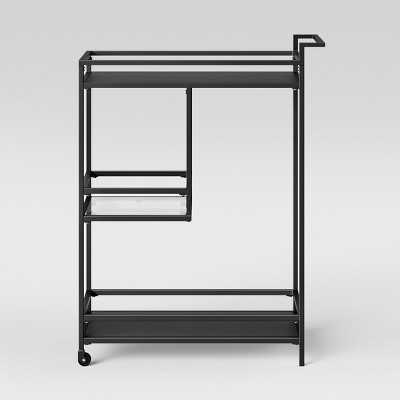 Glasgow Metal Bar Cart Black - Project 62™ - Target