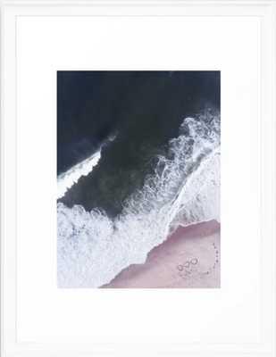 I love the sea - heart and soul Framed Art Print - Society6