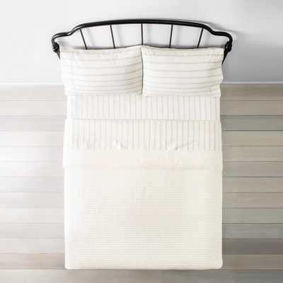 Quilt Texture Stripe - Hearth & Hand™ with Magnolia - Queen - Target