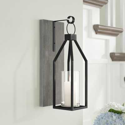 Wood and Metal Wall Sconce - Wayfair