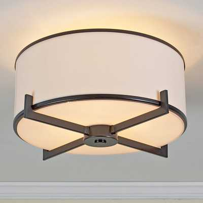 Soft Contemporary Ceiling Light - Oil rubbed bronze - Shades of Light