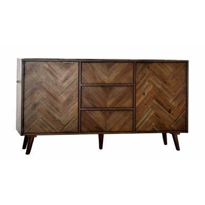"Jettie 60"" Wide 3 Drawer Sideboard - Wayfair"