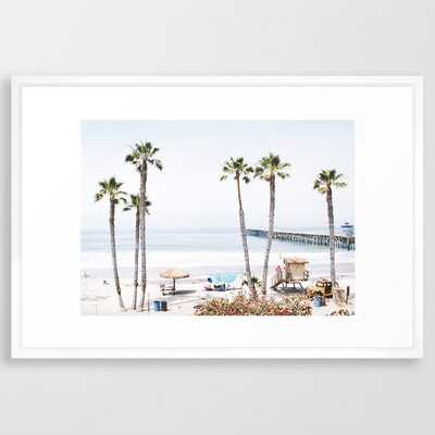 Palm Beach Framed Art Print - Society6