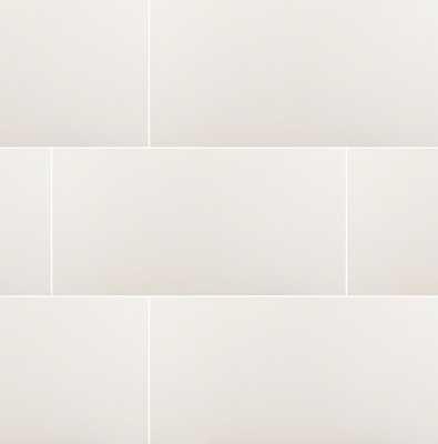 """Domino 12"""" x 24"""" Porcelain Field Tile - AllModern"""