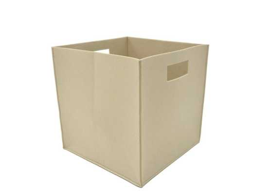 Handcrafted 4 Home 12 in. L x 12 in. W x 12 in. H Felt Fabric Storage Cube (Set of 2) - Home Depot