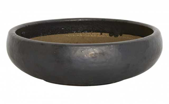 GUNMETAL SHALLOW BOWLS - small - Jayson Home