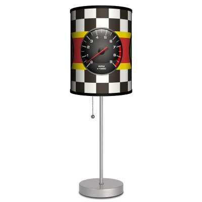 """Paez Racing Gauges 19"""" Table Lamp - Wayfair"""