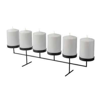 Kroeker Table Metal Candelabra - Wayfair