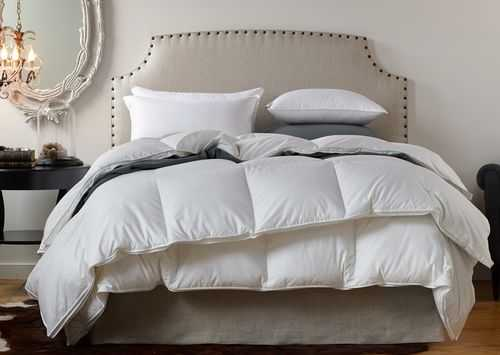 """Havenly Recommended Basic: Down Alternative Pillow Insert - 22"""" x 22"""" - Noble Feather Co."""