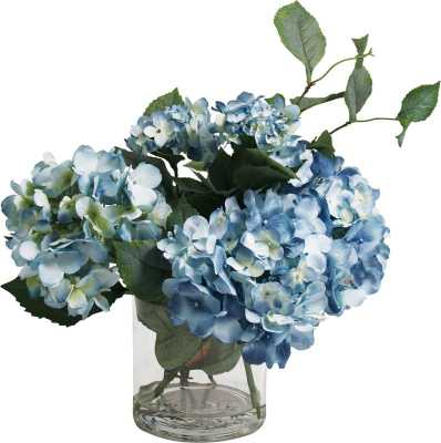 Hydrangea Flower Spray Arrangement - Wayfair
