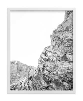 painted canyon 1 - framed 11x14 white - Minted