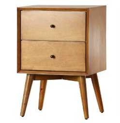 Parocela 2 Drawer Nightstand - AllModern