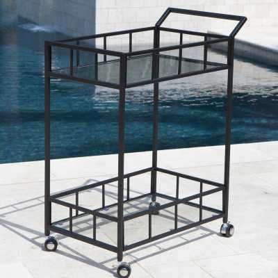 Marra Outdoor Bar Serving Cart - Wayfair
