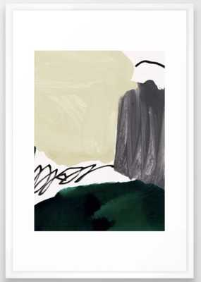 minimalist painting 03 Framed Art Print - Society6
