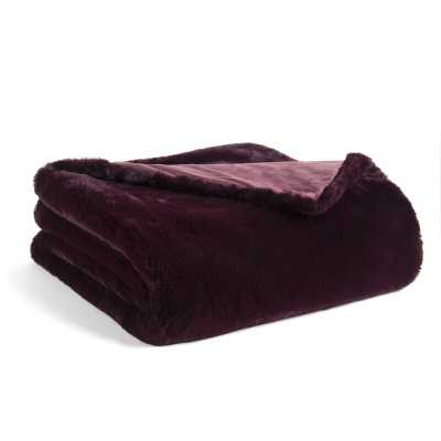 Mabry Super Soft Double Layer Faux Fur Throw - Wayfair