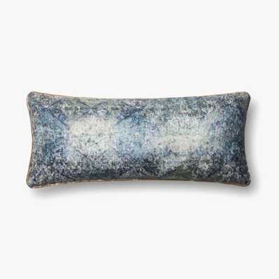 P0565 BLUE PILLOW with poly insert - Loma Threads