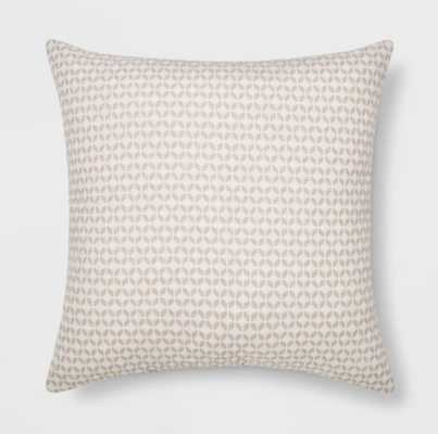 Woven Geo Square Throw Pillow - Project 62™ - Target