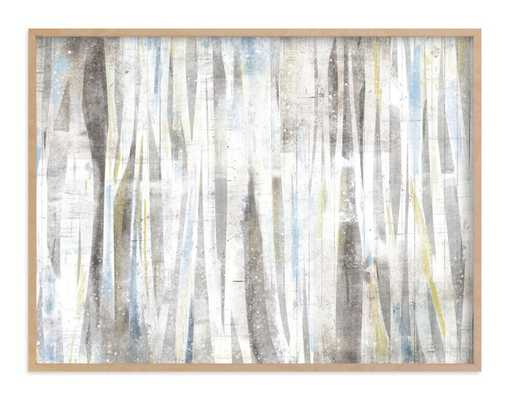 Serene Forest , Taupe - Minted