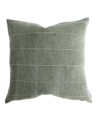 "MOODY PILLOW WITHOUT INSERT, 20"" x 20"" - McGee & Co."