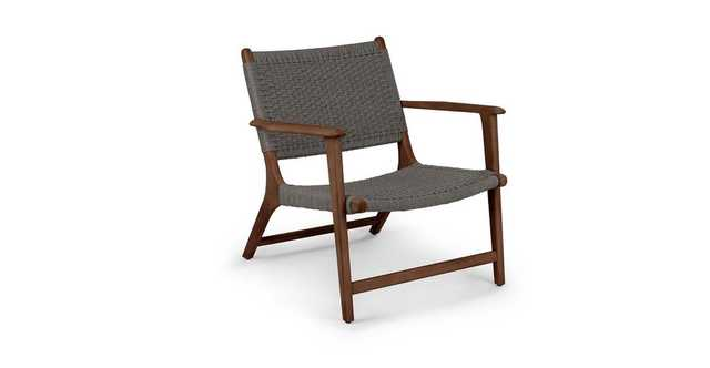 Reni Freckle Gray Lounge Chair - Article