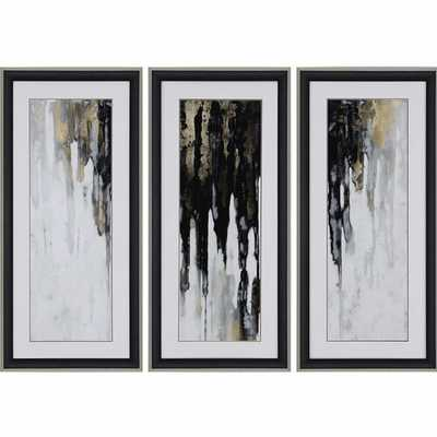 NEUTRAL SPACE II BY CONLEY 3 PIECE PAINTING PRINT SET - Perigold
