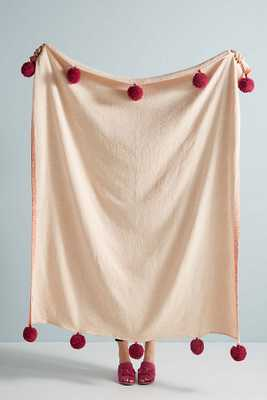 Pommed Suvarna Throw Blanket - Anthropologie