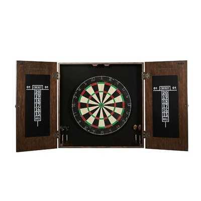 Webster Dartboard and Cabinet Set - Wayfair