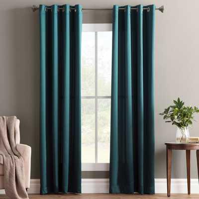 "Wayfair Basics Solid Room Darkening Grommet Single Curtain Panel- 40"" x 108"" - AllModern"