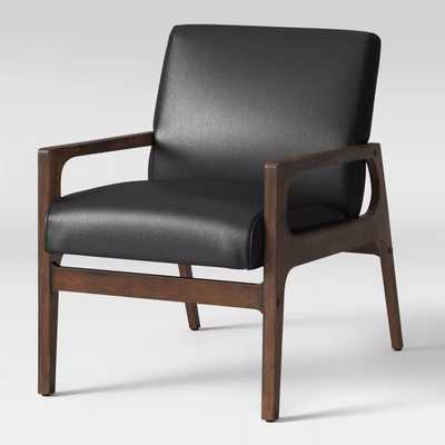 Peoria Wood Arm Chair Black Ships Flat - Project 62™ - Target