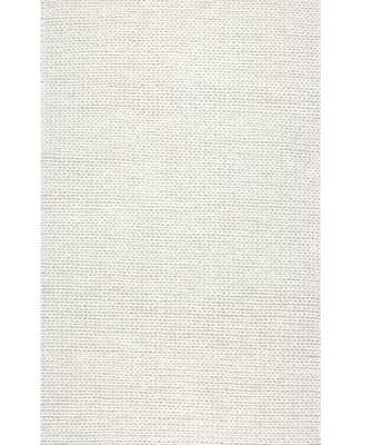 Arviso Hand-Braided Wool Off White Area Rug - Wayfair