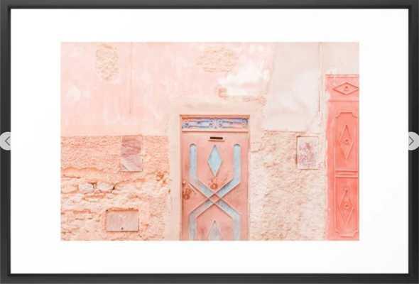 Marrakech Entryway Framed Art Print - Society6