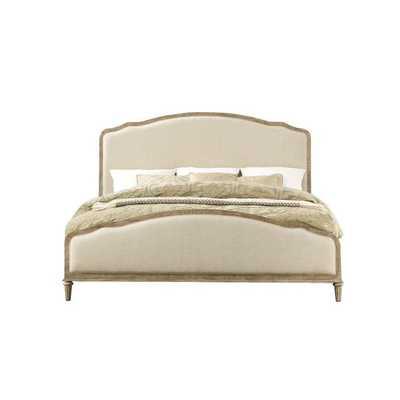 Montreal Upholstered Panel Bed-King - Wayfair