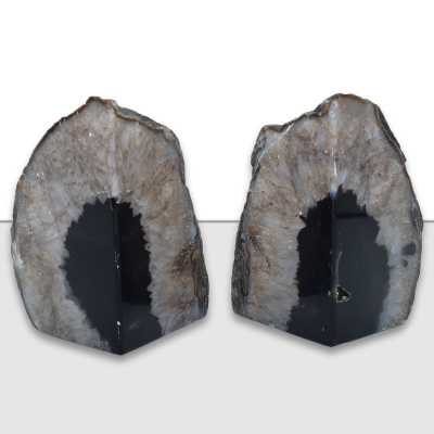 Agate Non-skid Bookends - Wayfair