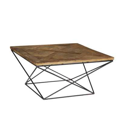 Torcere Reclaimed Elm Wood Coffee Table - Wayfair