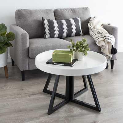 Clawson Round Coffee Table - Wayfair