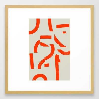 PROCESS Framed Art Print - Society6